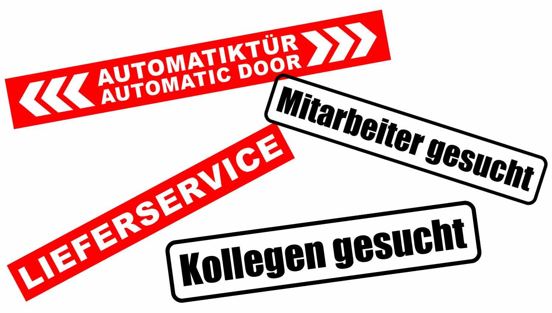 Fahrzeugbeschriftung-Aufkleber