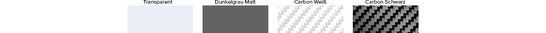 Ladekantenschutz - verfügbare Farben
