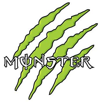 Monster Energy Aufkleber